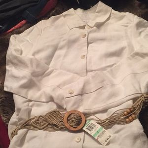 Charter club blouse size 8. NWT
